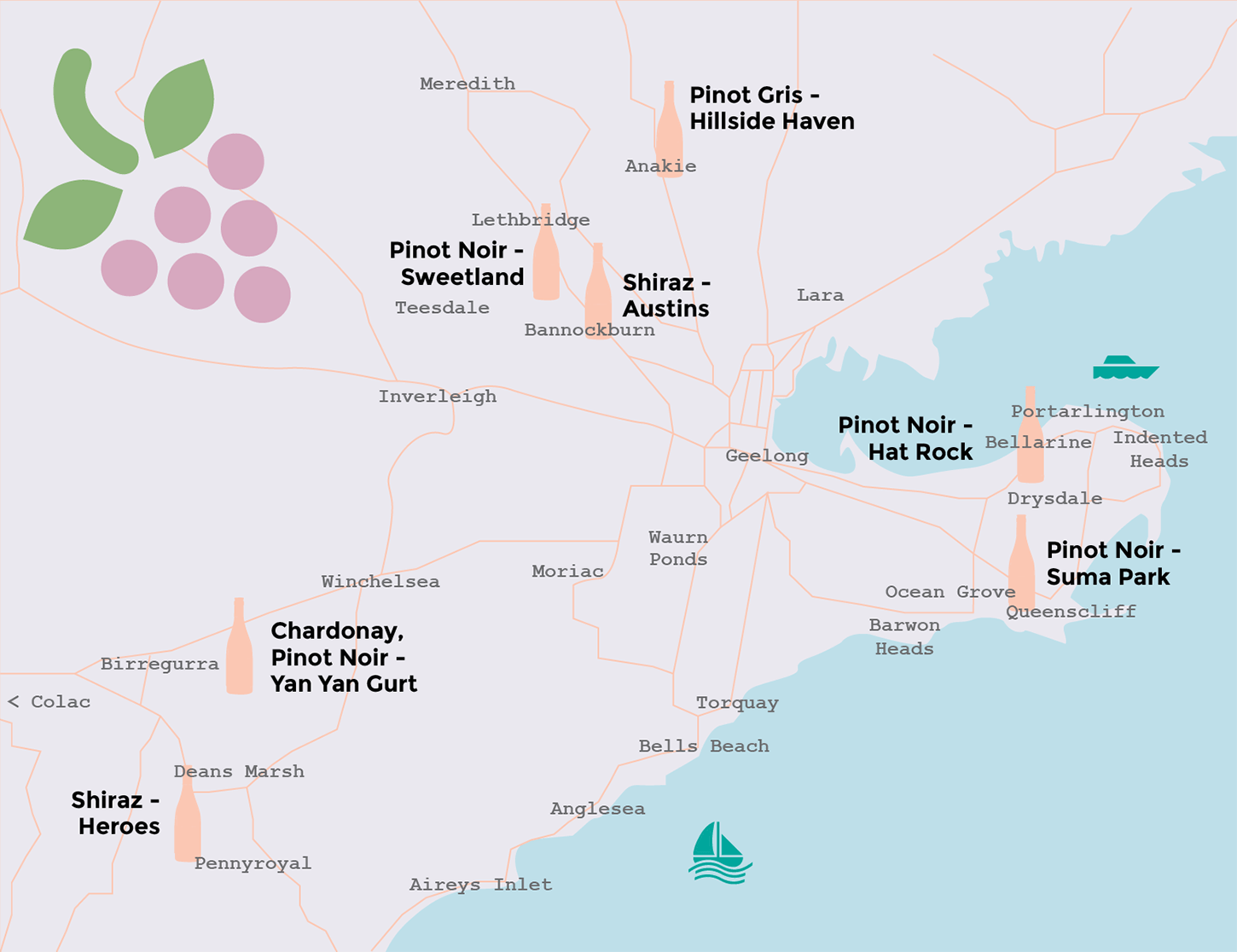 Where our wines come from