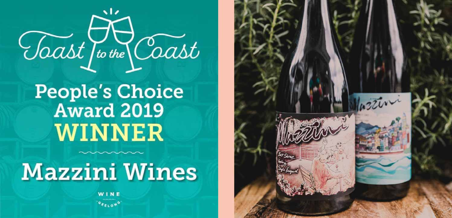 Toast to the Coast Peoples Choice Award Winner